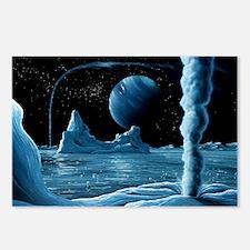 Ice volcanoes on Triton, artwork - Postcards (Pk o