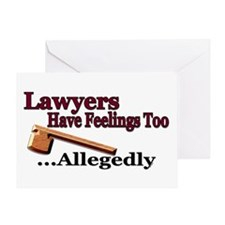 lawyers2 Greeting Cards