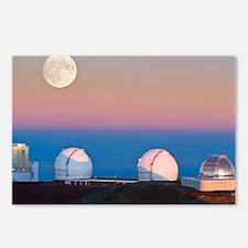 Observatories on summit of Mauna Kea - Postcards (