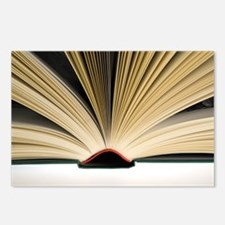 Open book - Postcards (Pk of 8)