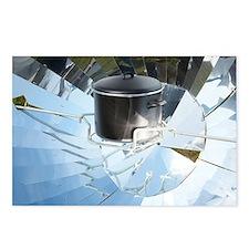 Parabolic solar cooker - Postcards (Pk of 8)