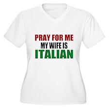 Pray Wife Italian T-Shirt