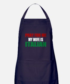 Pray Wife Italian Apron (dark)
