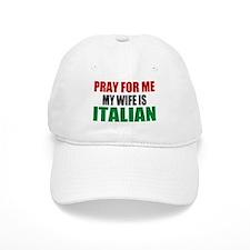 Pray Wife Italian Baseball Cap