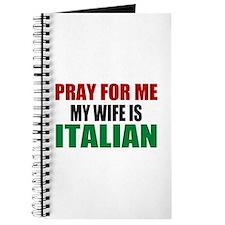 Pray Wife Italian Journal