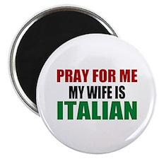 Pray Wife Italian Magnet