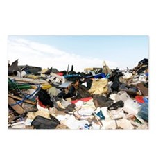 Recycling collection point - Postcards (Pk of 8)