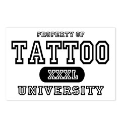 Tattoo University Postcards (Package of 8)