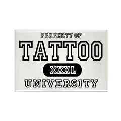 Tattoo University Rectangle Magnet (10 pack)