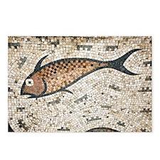 Roman mosaic - Postcards (Pk of 8)