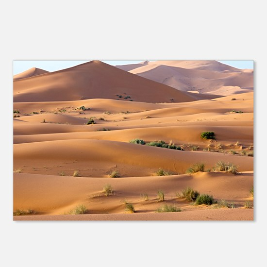 Saharan sand dunes - Postcards (Pk of 8)