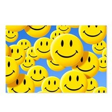 Smiley face symbols - Postcards (Pk of 8)