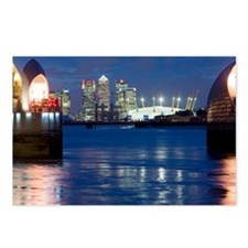 The Thames Flood Barrier - Postcards (Pk of 8)