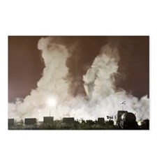 Tinsley cooling towers demolition - Postcards (Pk