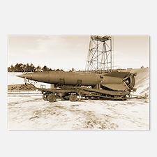 V-2 rocket - Postcards (Pk of 8)