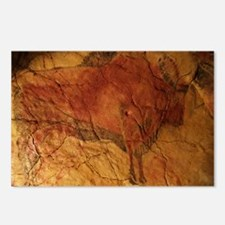Altamira cave painting of a bison - Postcards (Pk