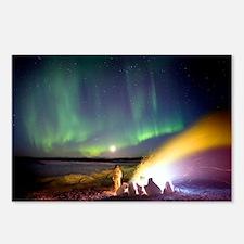 Aurora borealis in Alaska - Postcards (Pk of 8)