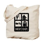 Next Exit Death Tote Bag