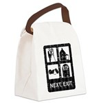 Next Exit Death Canvas Lunch Bag