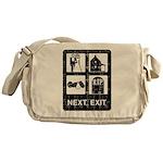 Next Exit Death Messenger Bag