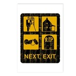 Next Exit Death Postcards (Package of 8)