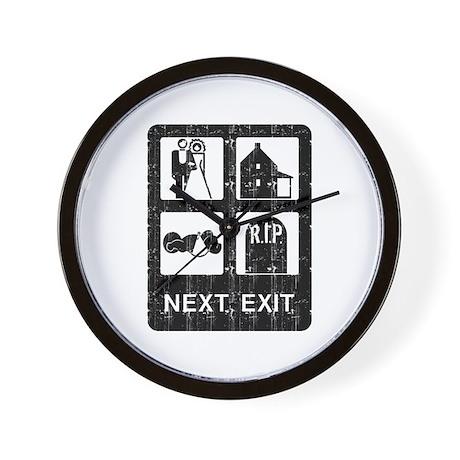Next Exit Death Wall Clock
