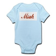 Miah name Infant Bodysuit