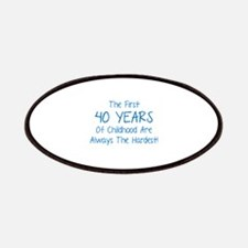 The First 40 Years Of Childhood Patches