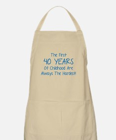 The First 40 Years Of Childhood Apron