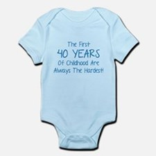 The First 40 Years Of Childhood Infant Bodysuit