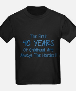The First 40 Years Of Childhood T