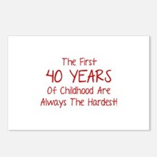 The First 40 Years Of Childhood Postcards (Package