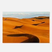 Desert sand dunes at Glamis,near Yuma,California -