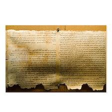 Dead Sea scroll - Postcards (Pk of 8)