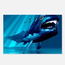 Dunkleosteus sp. prehistoric fish - Postcards (Pk
