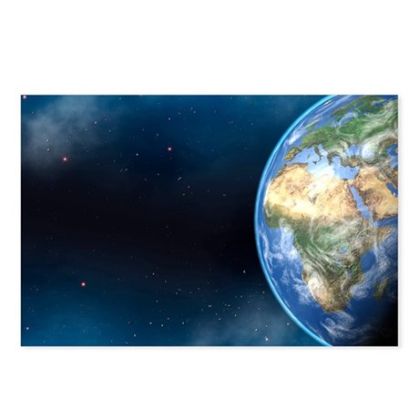 Earth from space - Postcards (Pk of 8)