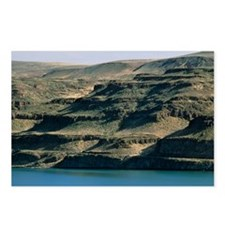 Eroded landscape of basalt, an igneous rock - Post