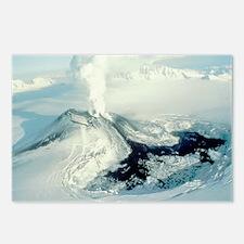 Eruption of Veniaminof volcano, Alaska - Postcards