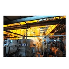 Electricity production facility - Postcards (Pk of
