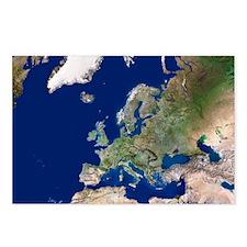 Europe - Postcards (Pk of 8)