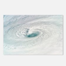 Eye of Hurricane Dean, 18 August 2007 - Postcards