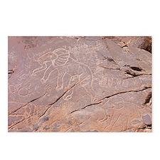 Elephant Petroglyph, Libya - Postcards (Pk of 8)