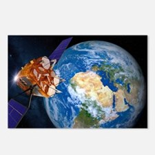Eutelsat communications satellite - Postcards (Pk