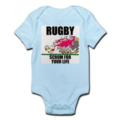 Scrum For Your Life Infant Bodysuit