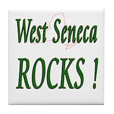 West Seneca Rocks ! Tile Coaster