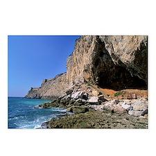 Gorham Cave, Gibraltar - Postcards (Pk of 8)