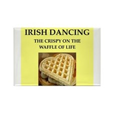 irish dancing Rectangle Magnet