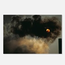 Industrial air pollution - Postcards (Pk of 8)