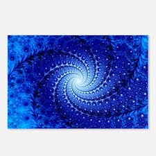 Julia fractal - Postcards (Pk of 8)