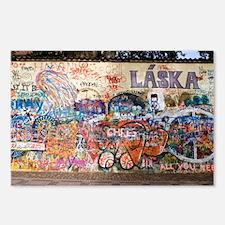 Lennon Wall, Prague - Postcards (Pk of 8)